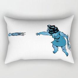 Lancé de méduses Rectangular Pillow