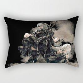 Nier Automata Chara Rectangular Pillow