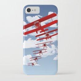 Retro Biplanes iPhone Case