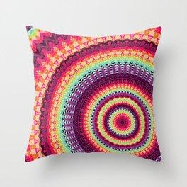 Mandala 140 Throw Pillow