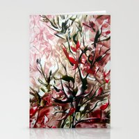 magnolia Stationery Cards featuring Magnolia by ART de Luna