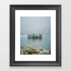 Paradise Island - Landscape Photography Framed Art Print