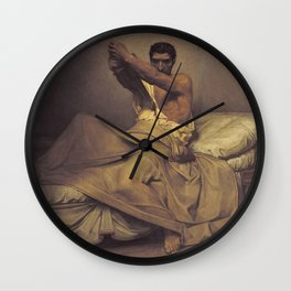 Jean-Paul Laurens - Mort de Caton d'Utique Wall Clock
