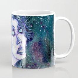 Void Elf Ren'dorei Female Portrait WoW Fanart Coffee Mug