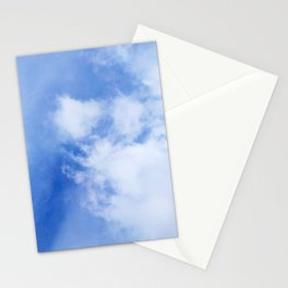 Blue Cloudy Sky Stationery Cards
