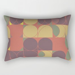Abstract Geometric Artwork 31 Rectangular Pillow