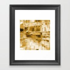 cliff dwelling Framed Art Print