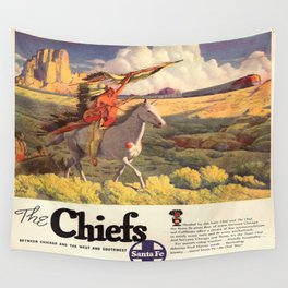 Vintage poster - The Chiefs Wall Tapestry
