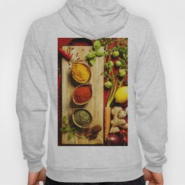 Herbs and spices Hoody