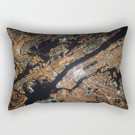 New York From Above Rectangular Pillow