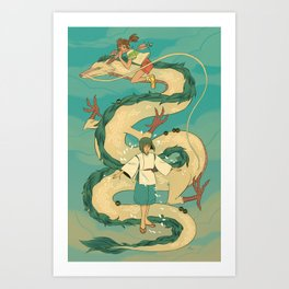 Chihiro Art Prints For Any Decor Style Society6