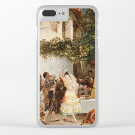 Georges Jules Victor Clairin - The Spanish Dancers Clear iPhone Case