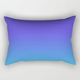 Hipster deep sea gradient Rectangular Pillow