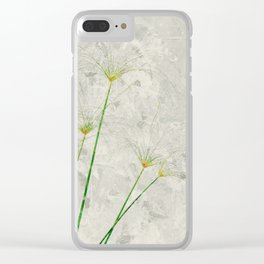 Papyrus Clear iPhone Case