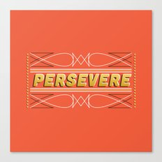 Persevere Canvas Print