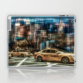 NYC - Yellow Cabs Laptop & iPad Skin
