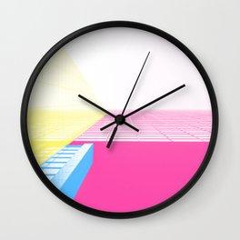 CMYGRID Wall Clock