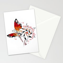 the butterfly effect a`la DANG Stationery Cards
