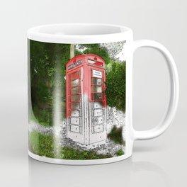 Phone Box by Numbers Coffee Mug