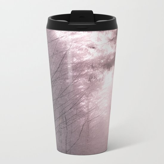 Mystical Tree Path Metal Travel Mug
