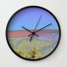 Chromascape 5: Formentera Wall Clock