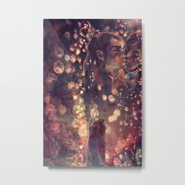 ZKW'16 Candles Metal Print