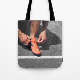 Get up and Run Tote Bag