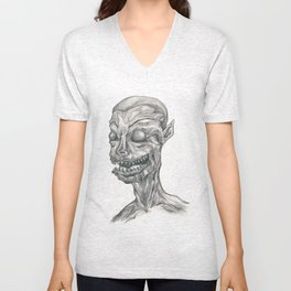 The Devil Within Unisex V-Neck