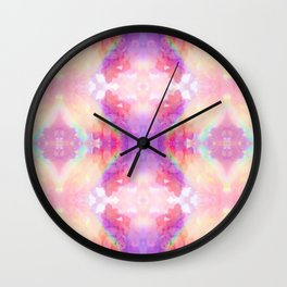rAiNbOw Crystal * Star Quartz * Mandala Wall Clock