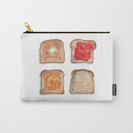 Breakfast & Brunch: Toasts Carry-All Pouch