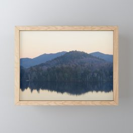 Lake Placid Sunrise Framed Mini Art Print