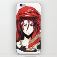 iwatobi iPhone & iPod Skins featuring Free! Iwatobi Swim Club Rin by Mistiqarts