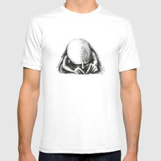 Ant II. MEDIUM Mens Fitted Tee White
