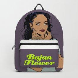 Bajan Flower Backpack