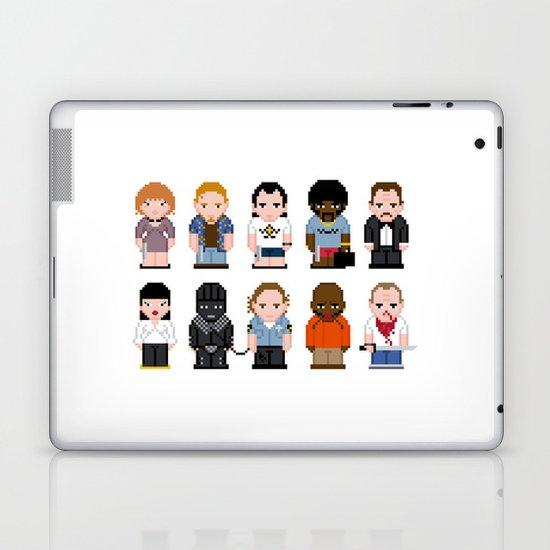 Pixel Pulp Fiction Characters Laptop & iPad Skin