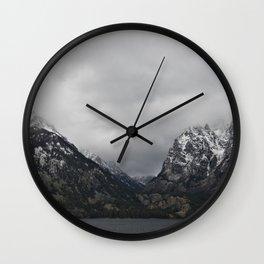 Jenny Lake and The Tetons Wall Clock