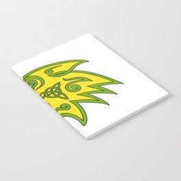 Boar Head Celtic Knot Notebook