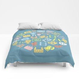 Cinema circle Comforters