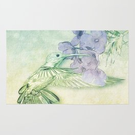 Hummingbird Kisses Rug