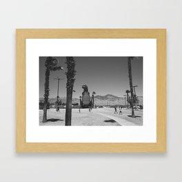 Cabazon T-Rex Framed Art Print