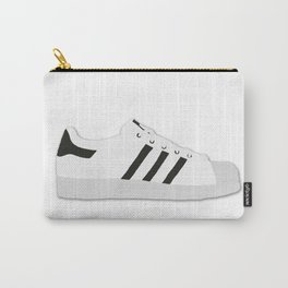 Superstar The Three Stripes Black & White Carry-All Pouch
