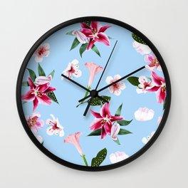 Oenomel #society6 #decor #buyart Wall Clock