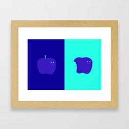 Living/Dead Apple Framed Art Print