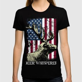 Hunting Themed Deer Whisperer Tee, Awesome Retro Distressed T-shirt