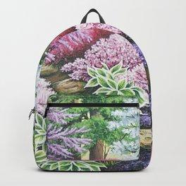 Garden In Spring Backpack