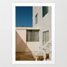 Sunny Corner Art Print