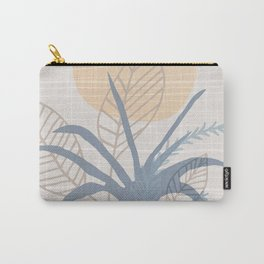 Brunch On The Patio / Abstract Botanical Illustration Carry-All Pouch