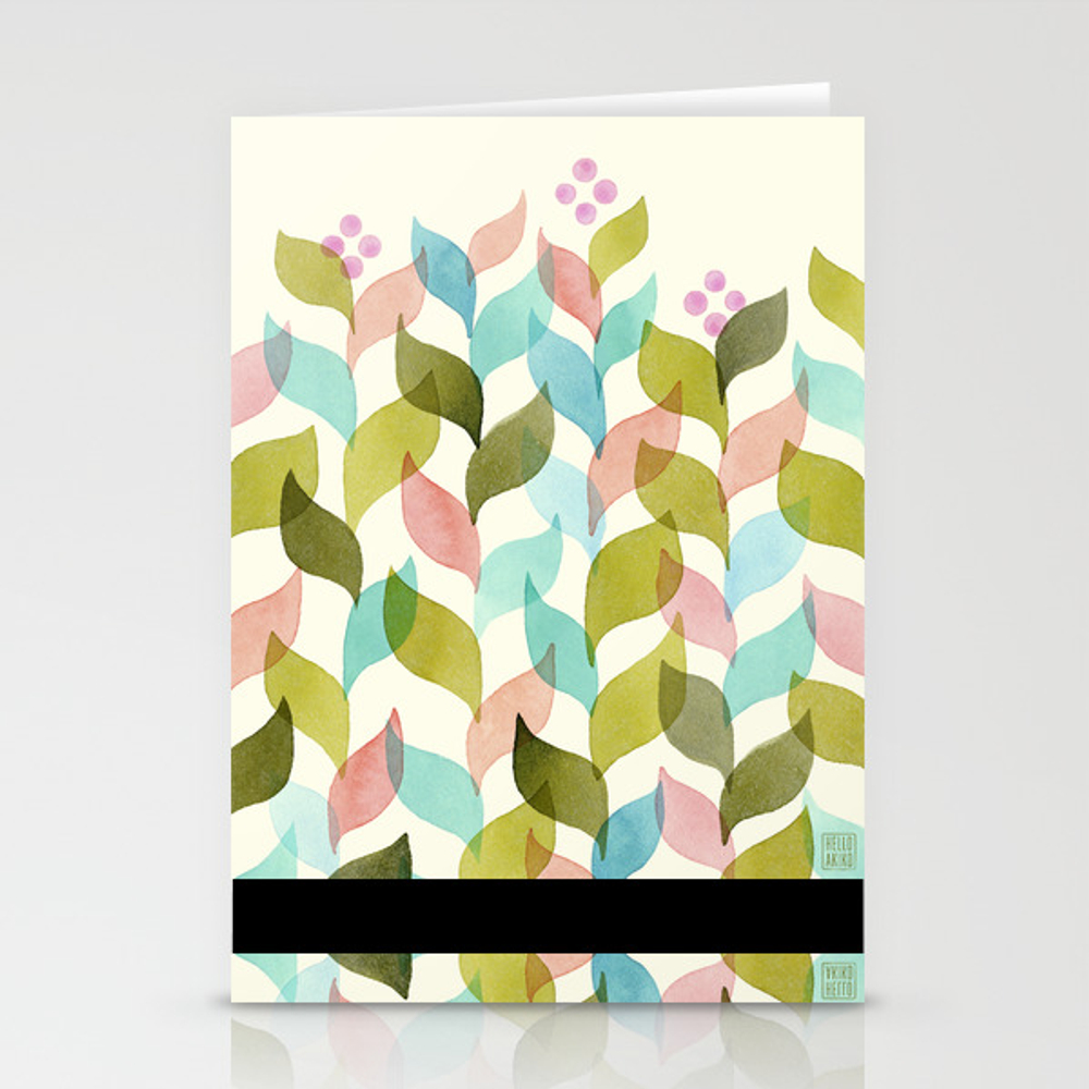 Climbing Vines Stationery Cards by Helloakiko CRD8547736
