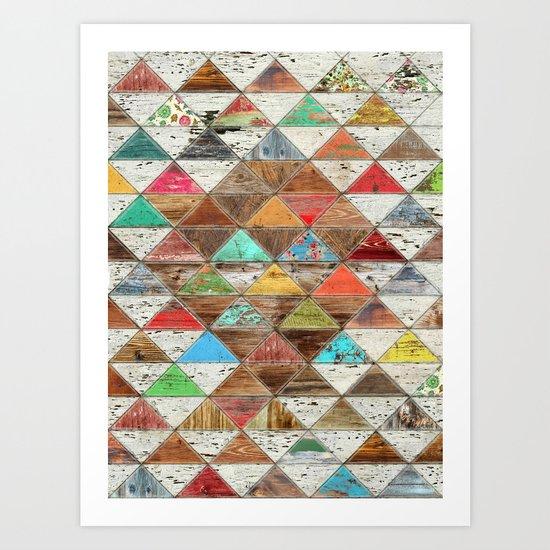 Love Pattern Art Print
