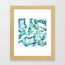 Bahamas - aquamarine Framed Art Print